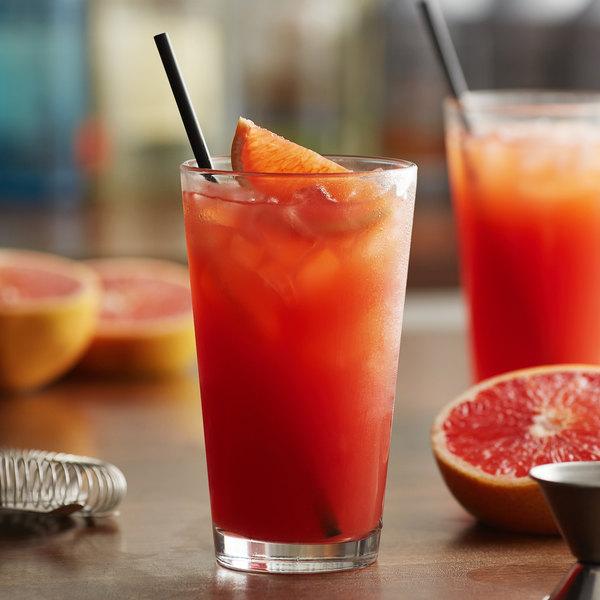 Monin 1 Liter Blood Orange Fruit Puree Main Image 2