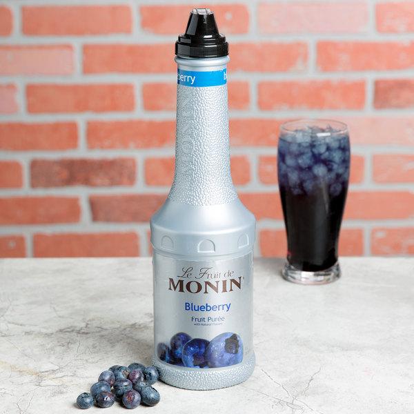 Monin 1 Liter Blueberry Fruit Puree