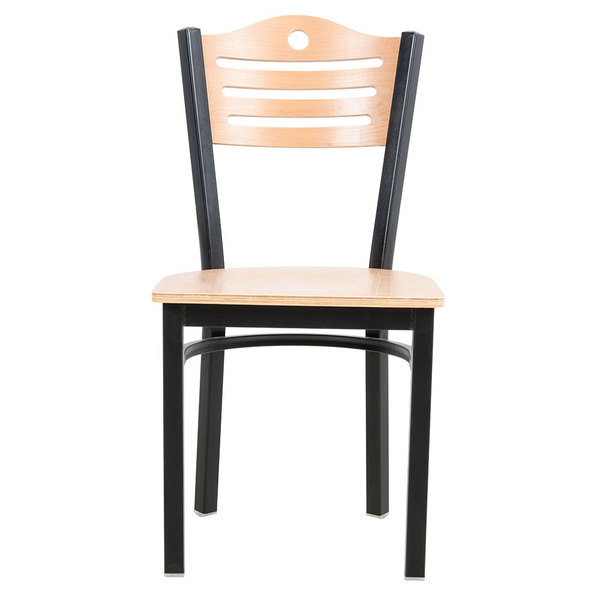 Give Your Dining Room A Modern Appearance With The Lancaster Table Seating Natural Finish Bistro Chair