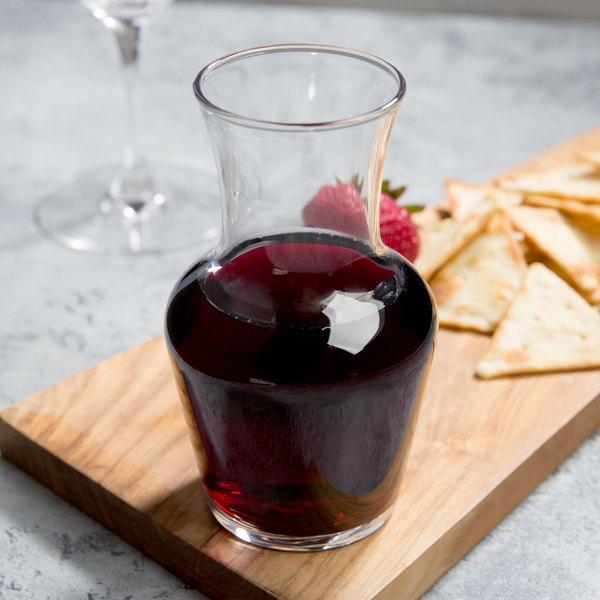 Arcoroc C0198 8.5 oz. Glass Wine Carafe by Arc Cardinal - 12/Case