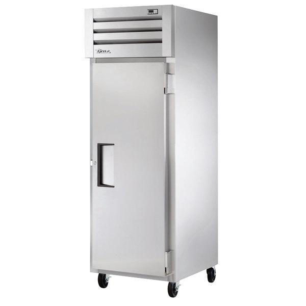 True STM1R-1S-HC 27 1/2 inch Solid Door Reach-In Refrigerator