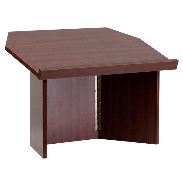 Flash Furniture MT-M8833-LECT-GG Mahogany Foldable Tabletop Lectern