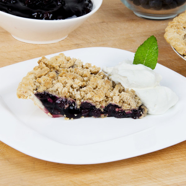 Lucky Leaf #10 Can Non-GMO Blueberry Pie Filling - 3/Case