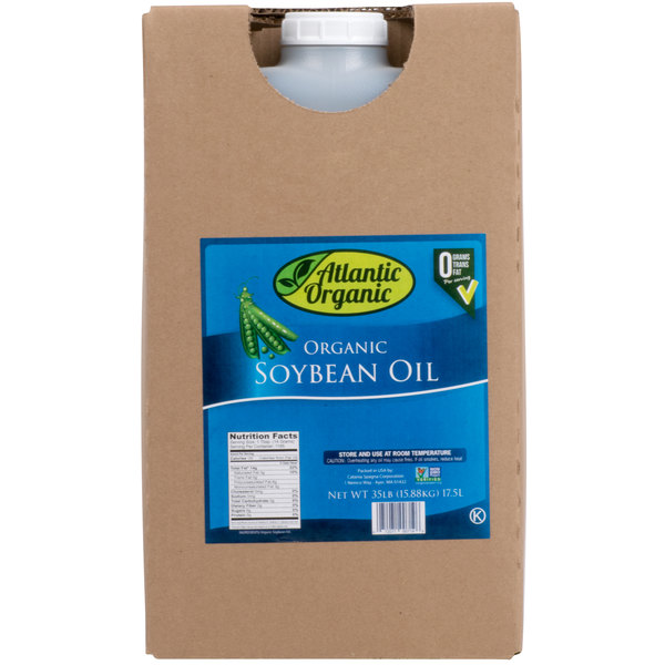 100% Organic Soybean Oil - 35 lb