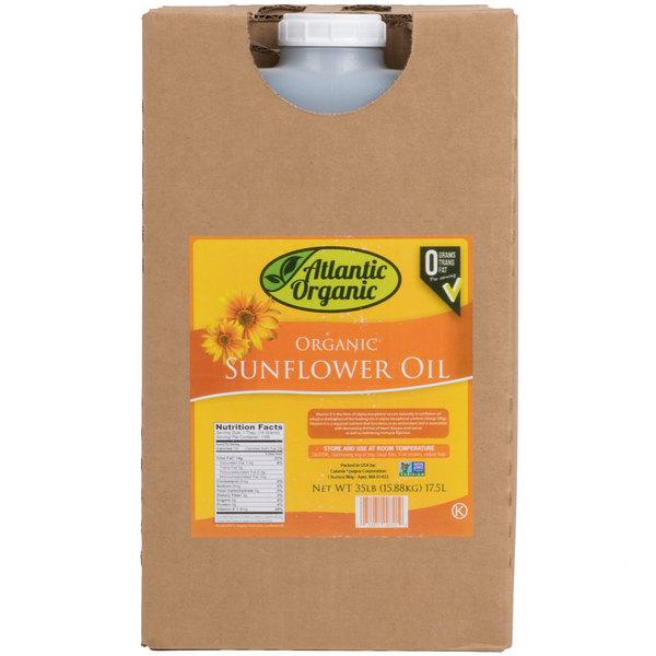 100% Organic Sunflower Oil - 35 lb