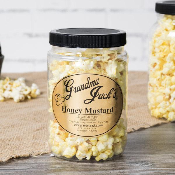 Grandma Jack's 32 oz. Gourmet Honey Mustard Popcorn