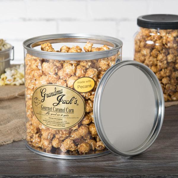 Grandma Jack's 1 Gallon Gourmet Caramel Corn with Pecans
