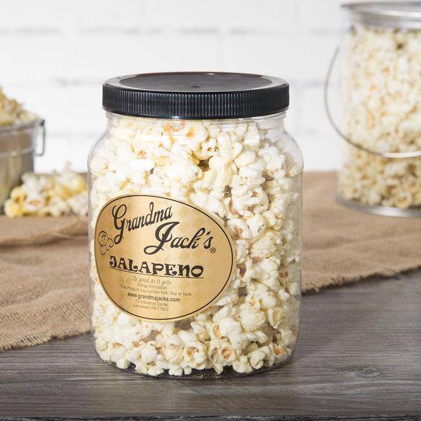 Grandma Jack's 64 oz. Gourmet Jalapeno Popcorn