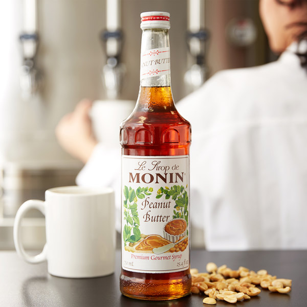 b4846542c6d Monin 750 mL Premium Peanut Butter Flavoring Syrup. Image Preview  Main  Picture