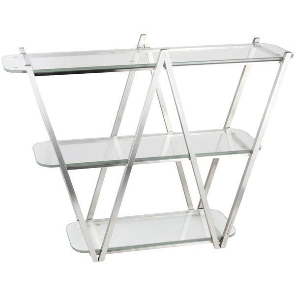 Eastern Tabletop St1775 35 X 11 29 1 2 Stainless Steel 3 Tier W Display Stand
