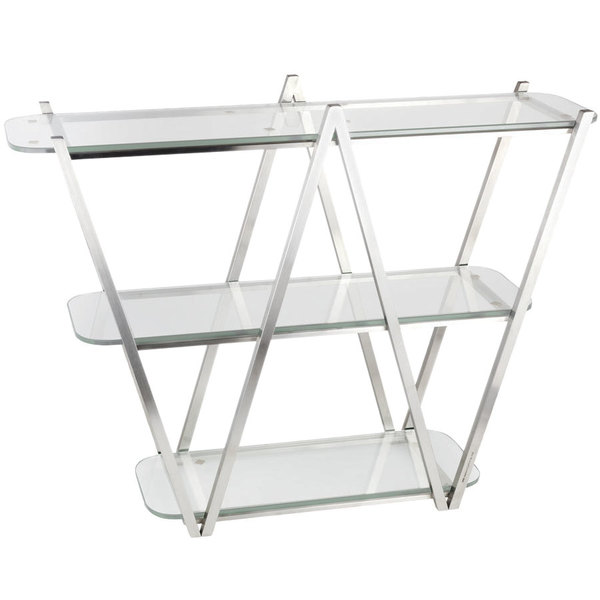 Eastern Tabletop Ac1775 35 X 11 29 1 2 Stainless Steel 3 Tier W Display Stand