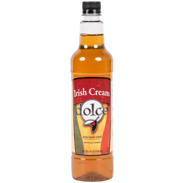 Dolce Irish Cream Coffee Flavoring Syrup