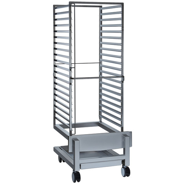 Alto-Shaam 5017976 Roll-In Stainless Steel Bun Pan Rack - 20 Pan Main Image 1