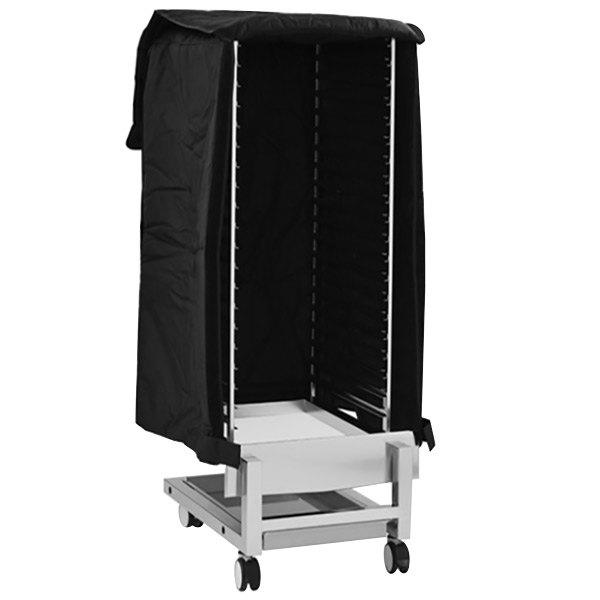 "Alto-Shaam BL-29128 Black Nylon Thermal Blanket Cover - 25 13/16"" x 33"" Main Image 1"