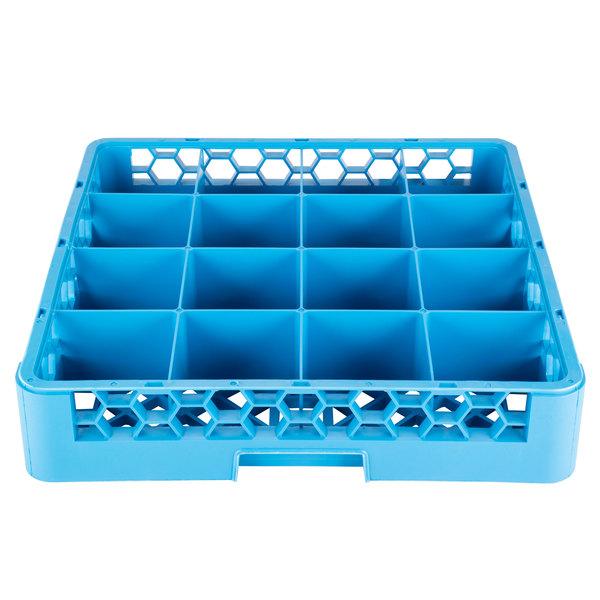 Opticlean Carlisle RG1614 16 Compartment Glass Rack 1 Each