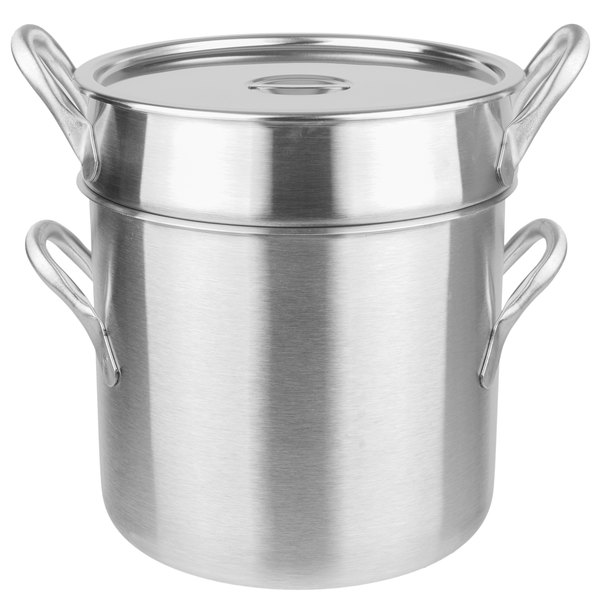 Vollrath 77130 20 Qt. Stainless Steel Double Boiler Set