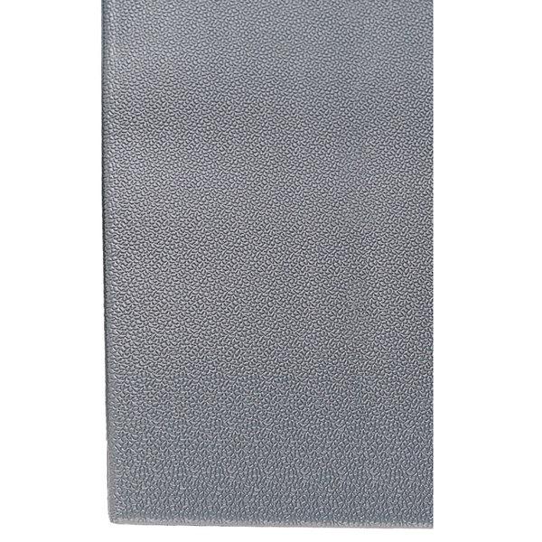"Cactus Mat 1025R-E2P Tredlite 2' Wide Gray Pebbled Vinyl Anti-Fatigue Mat - 3/8"" Thick"