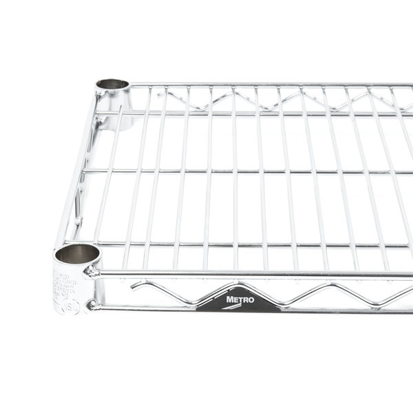 "Metro 1442NC Super Erecta Chrome Wire Shelf - 14"" x 42"""
