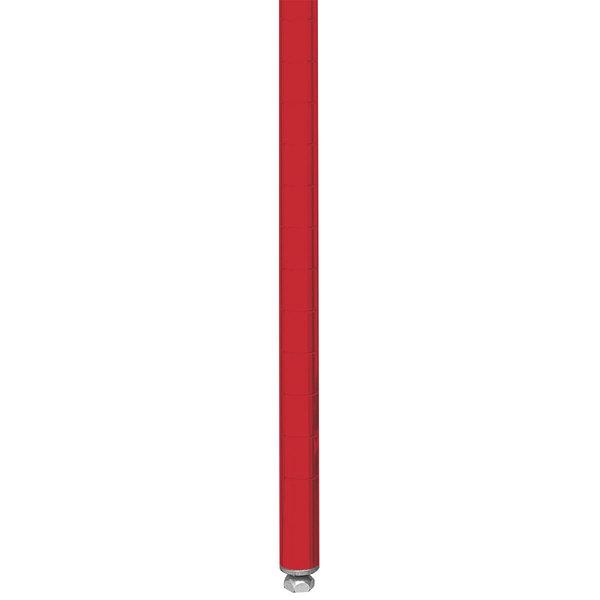 "Metro 33PF Stationary Super Erecta 34"" Post - Flame Red Finish"