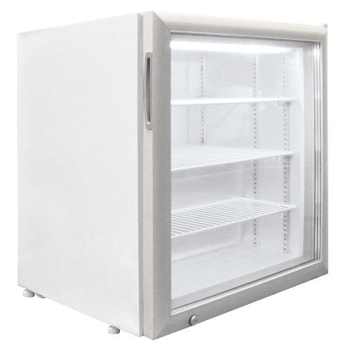 Excellence CTF-3HC White Countertop Display Freezer with Swing Door - 3.2 cu. ft.