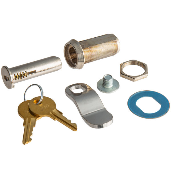 True 872849 Lock Barrel Kit for TMC-34, TMC-49, and TMC-58 Series