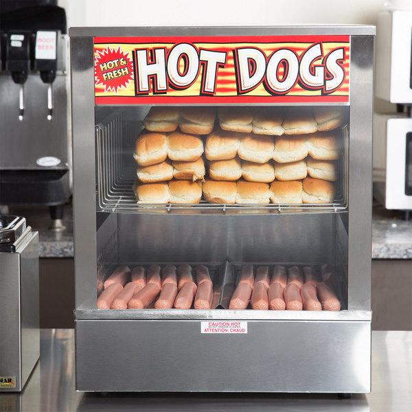 "APW Wyott DS-1AP ""Mr. Frank"" Self Serve Hot Dog Steamer"