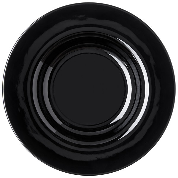 Add flair to your casual dining area with the Carlisle 4303003 Durus 20 oz. black melamine pasta bowl!  sc 1 st  WebstaurantStore & Carlisle 4303003 Durus 20 oz. Black Melamine Pasta Bowl - 12/Case