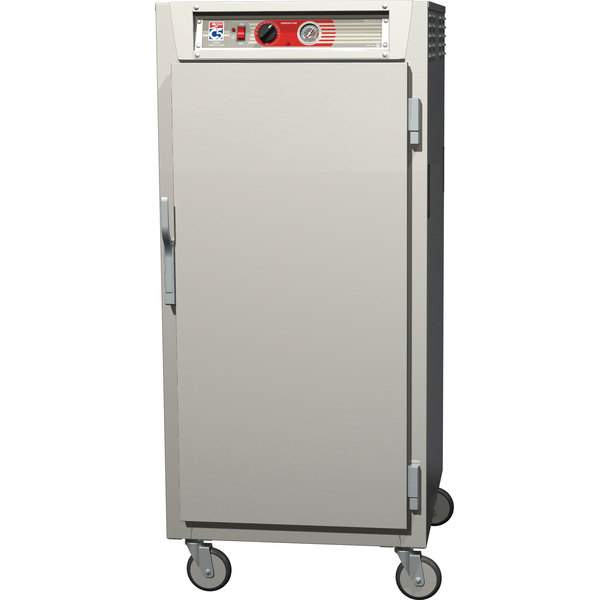 Metro C567-SFS-L C5 6 Series 3/4 Height Reach-In Heated Holding Cabinet - Solid Door Main Image 1
