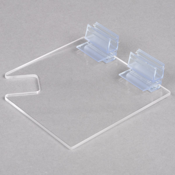 Cal-Mil 1811N Hinged Hard Plastic Lid with Notch