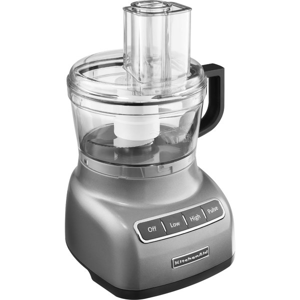 kitchenaid kfp0711cu contour silver 7 cup food processor