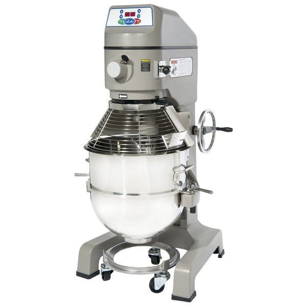 Globe SP60 Gear Driven 60 Qt. Commercial Planetary Floor Mixer - 208V, 3 Phase, 3 hp Main Image 1