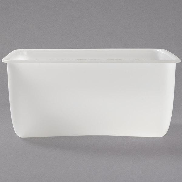 Tablecraft 107 32 oz. Condiment Dispenser Insert - White