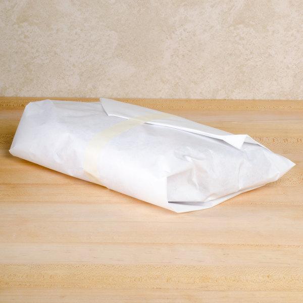 18'' x 1000' 40 lb. White Freezer Paper Roll