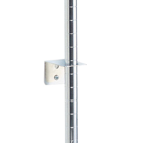 Metro SBCS Super Erecta Stainless Steel Post-Type Wall Mount Replacement Intermediate Bracket
