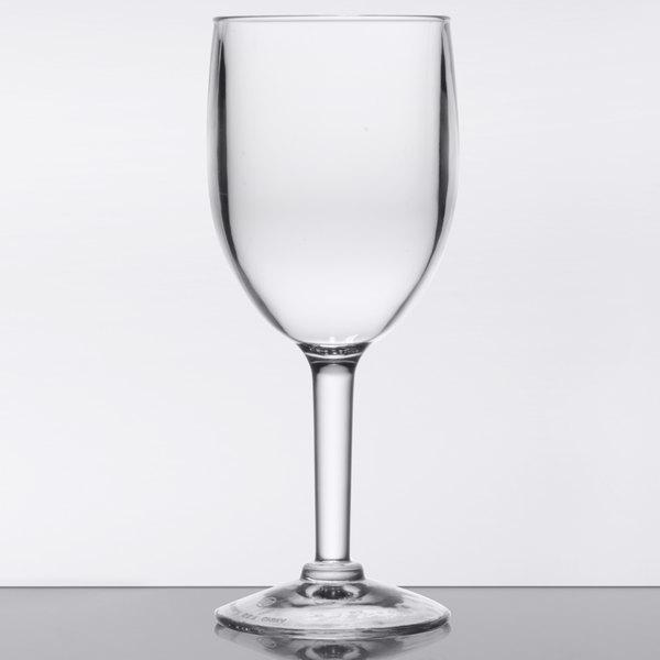 Get Sw 1404 Cl Sw1404 8 Oz Customizable San Plastic Wine Glass