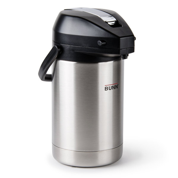 Bunn Airpot Stainless Steel 3 8 l Carafe Stainless Steel Easy To Transport