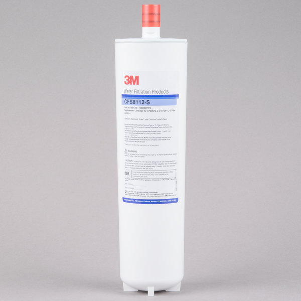 """3M Water Filtration Products CFS8112-S 12 7/8"""" Replacement Scale Reduction Cartridge - 1 Micron and 1.5 GPM Main Image 1"""