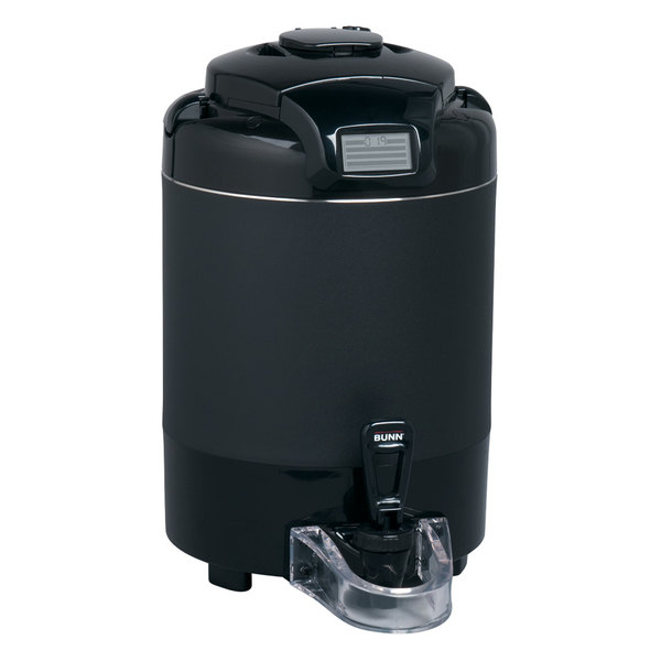 Bunn 42750.0051 TF 1.5 Gallon Black ThermoFresh Digital Coffee Server Without Base
