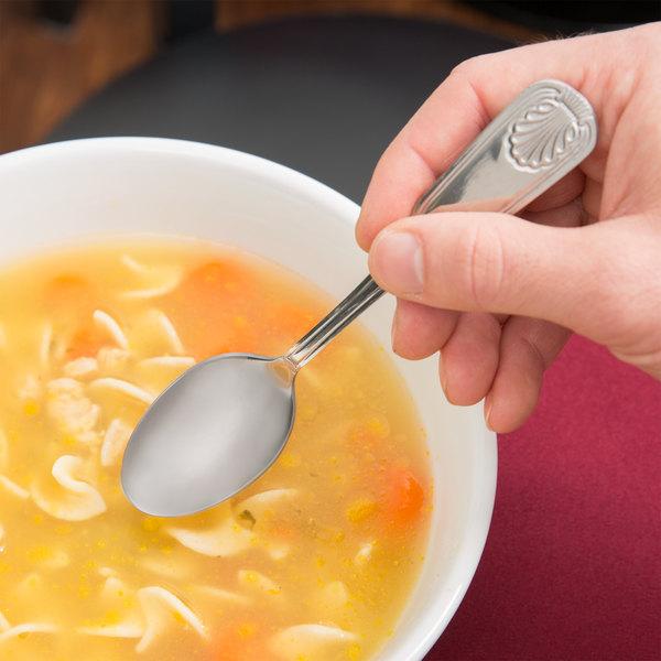 Shelley Flatware Stainless Steel Teaspoon - 12/Case