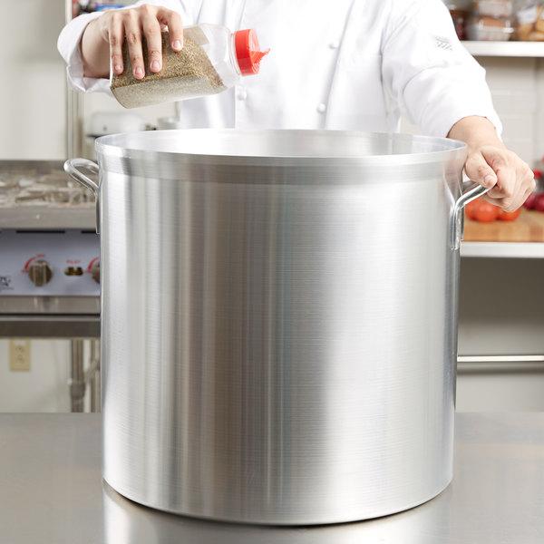 Vollrath 68690 Wear-Ever Classic Select 100 Qt. Heavy Duty Aluminum Stock Pot