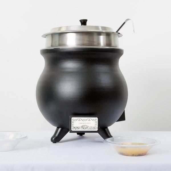 APW Wyott CWK-1 PKG 11 Qt. Soup Kettle Countertop Cooker - 120V