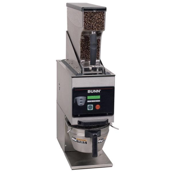 Bunn 40700.0001 G9WD-RH Weight Driven 6 lb. Coffee Grinder - 120V