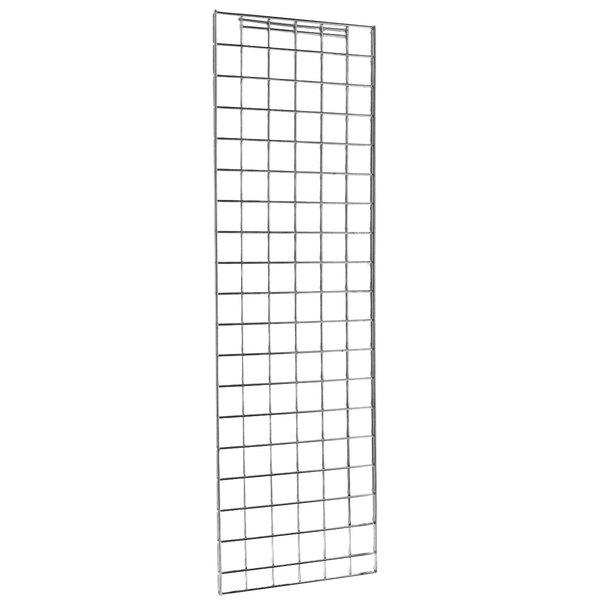 """Metro EP57C Chrome Grid Enclosure Panel 18 3/8"""" x 70 1/2"""""""