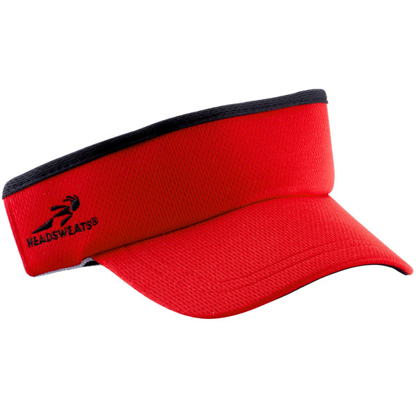 a3353559ce3a8 Headsweats Red Customizable CoolMax Chef Visor. Main Picture · Image  Preview · Image Preview · Image Preview · Image Preview