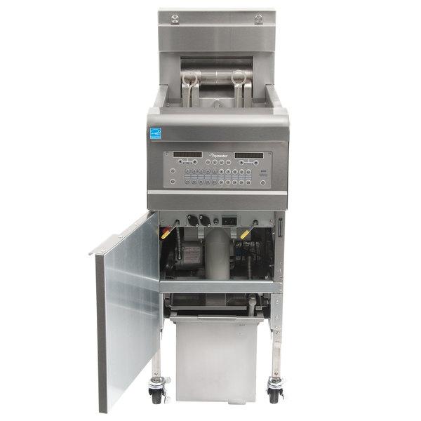 Frymaster FPGL130-2C Liquid Propane 30 lb. Split Pot Floor Fryer - 75,000 BTU
