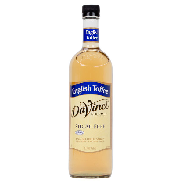 DaVinci Gourmet Sugar Free English Toffee Flavoring Syrup 750 mL
