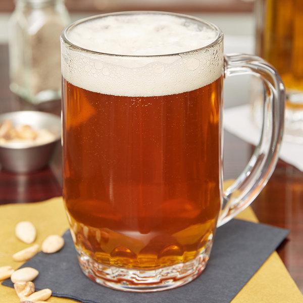 Libbey 5303 19.5 oz. Thumbprint Beer Mug - 24/Case Main Image 9