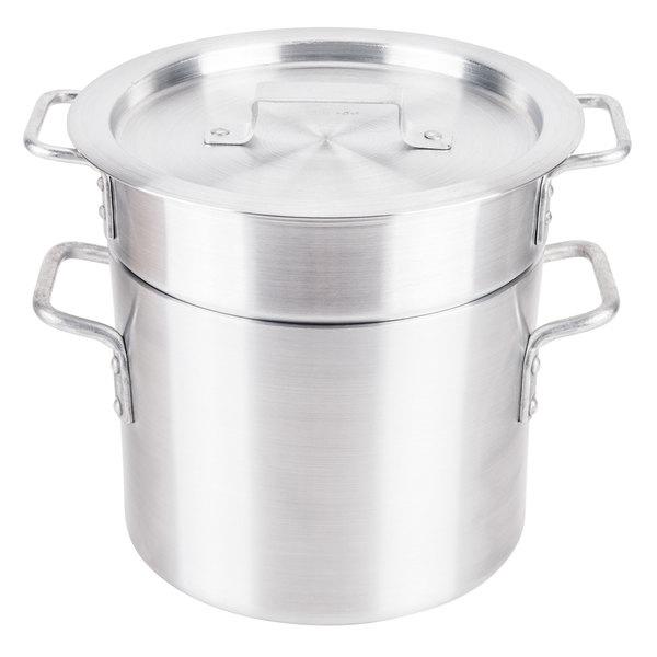 8 Qt. Aluminum Double Boiler