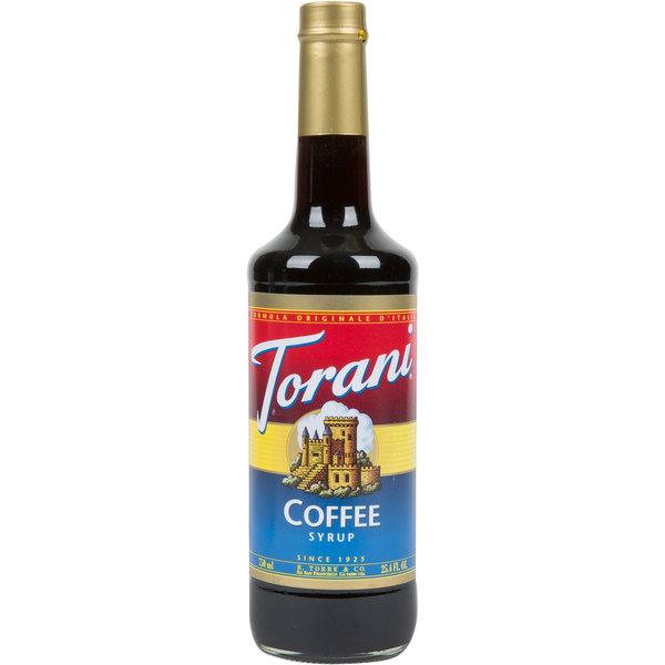 Torani 750 mL Coffee Flavoring Syrup Main Image 1