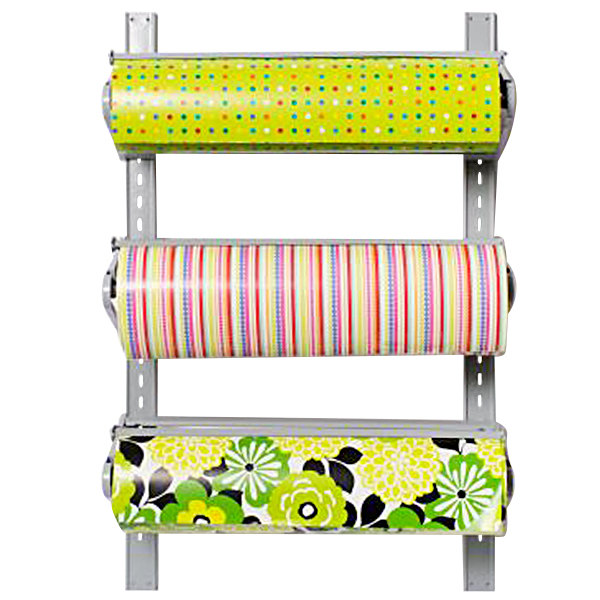 "Bulman T292-30 30"" Horizontal Three Paper Roll Wall Rack"